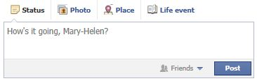 It's going great Facebook, thanks for asking.
