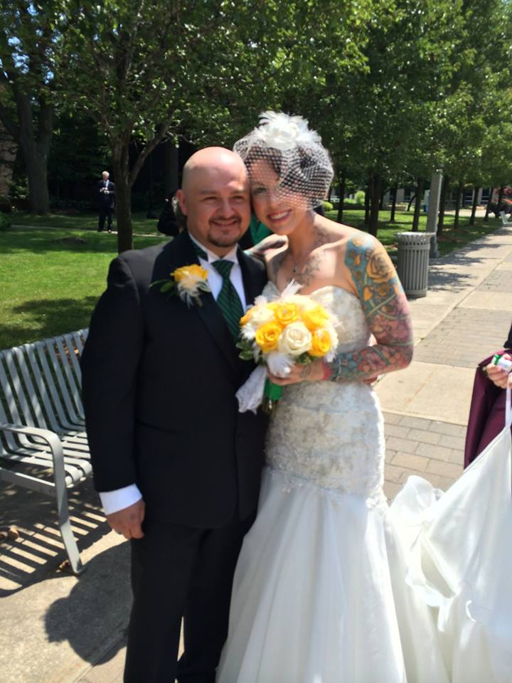 Congrats to Mr. and Mrs U!