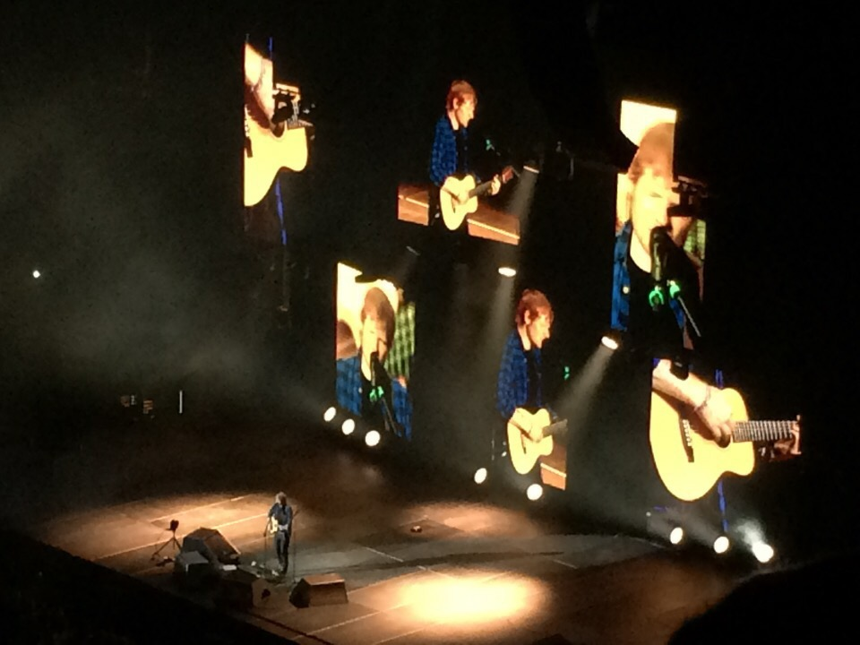 Ed Sheeran made all of my dreams come true