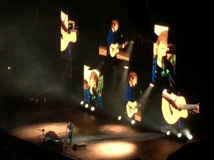 Ed Sheeran made all of my dreams come true