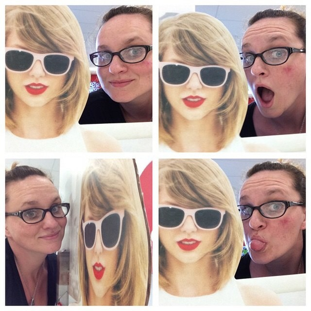 Remember when Target (RIP) had a Taylor Swift selfie stand & I dedicated large chunks of my shift to posing with it? Because Pepperidge Farm remembers.